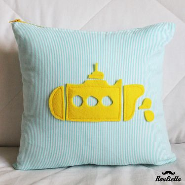 Yellow submarine. If I ever have a kid, I'm pretty sure I want to do their room in Beatles theme.