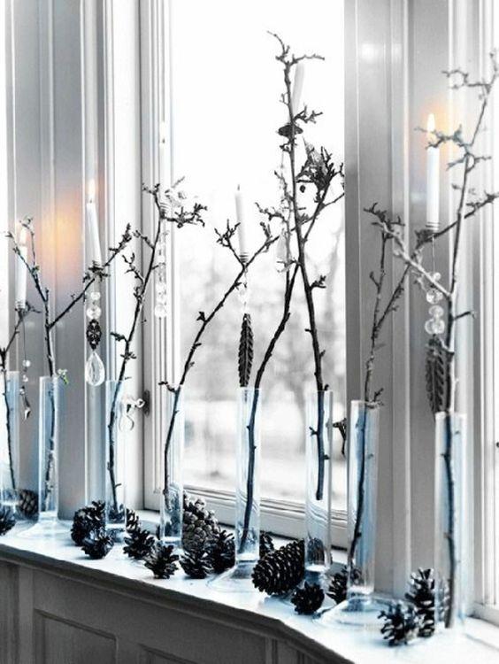 fensterbank deko stilvolle deko ideen f r die fensterbank deko pinterest dekoration. Black Bedroom Furniture Sets. Home Design Ideas