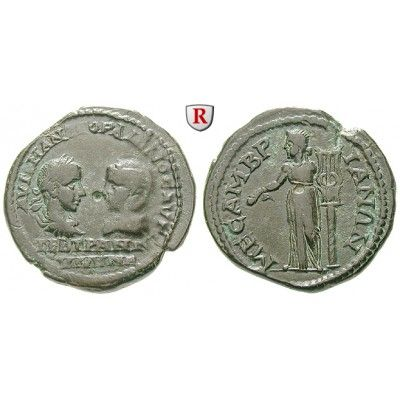 NEW  Römische Provinzialprägungen, Thrakien, Mesembria, Gordianus III., Bronze 238-244, f.vz: Thrakien, Mesembria. Bronze 27 mm… #coins