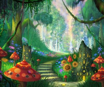 fairy land HD Wallpaper | magical playground | Pinterest ...