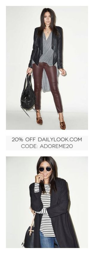 As a special thanks to all that entered our contest, get 20% off @dailylook! USE CODE: ADOREME20   #fall #fashion #ootd