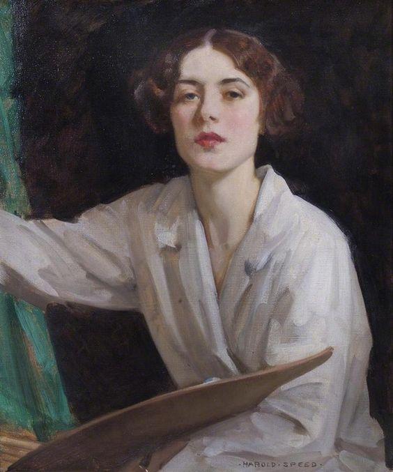 Harold Speed: Lady Diana Bridgeman (1907-67).