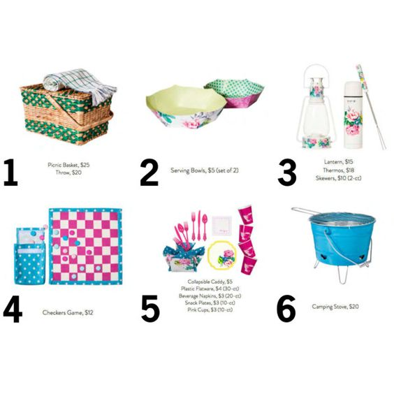 Top 6 Must-Haves: Picnics ft. Poppytalk with Target