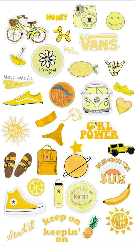 This is a graphic of Refreshing Aesthetic Printable Stickers