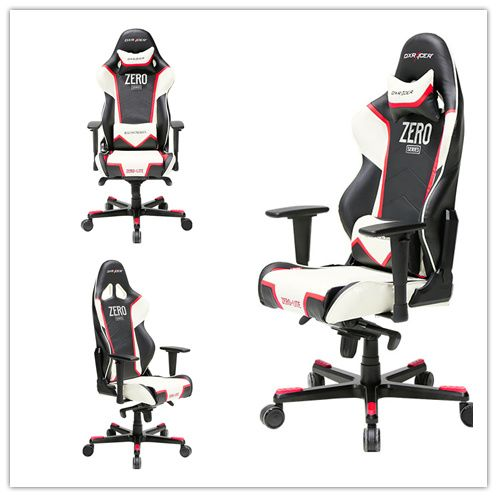 Dxracer New Racing Chair Black White And Red Americanoffice Bosschair Manager Boss Razer Gaming Chairs Pinterest Es