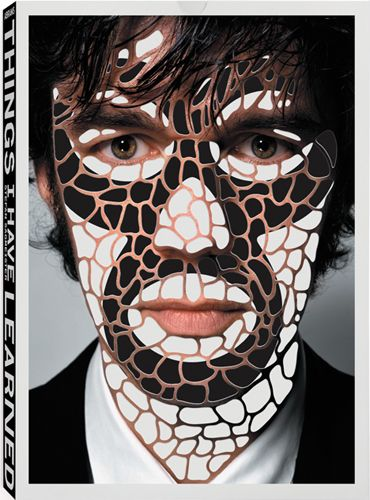 What I have learned in my life so far book design by Sagmeister.
