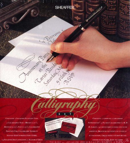Calligraphy Set Calligraphy And Pens On Pinterest