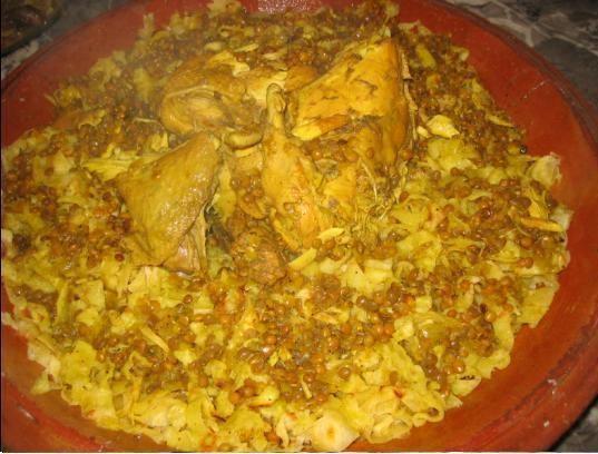 الرفيسة المغربية التريد رائعة بالصور Moroccan Food Food Chicken