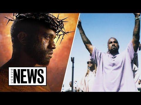 Looking At Kanye West S God Complex Through His Lyrics Genius News Youtube Kanye West Pop Songs Jesus