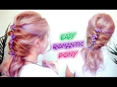 EASY HAIRSTYLE ROMANTIC BRAID PONYTAIL | Awesome Hairstyles