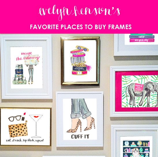 The Best Places to Buy Frames | Posts, Life and The palette