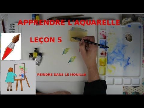 Aquarelle Gomme De Crayon Youtube Tutoriels Aquarelles Aquarelle