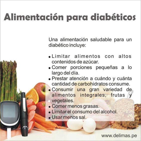 Alimentos para diabeticos | Consejos de salud para la