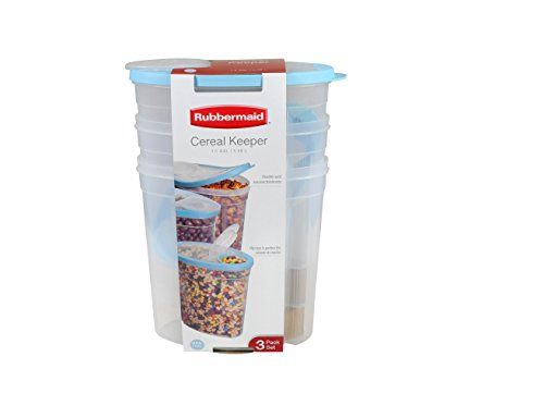 Rubbermaid Cereal Keeper 3Pack  Assorted Colors * Want to know more, click on the image.