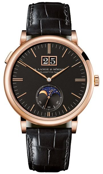 A. Lange & Söhne Saxonia Moon Phase Ref. 384.031