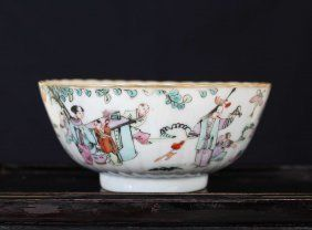 A Chinese 19th C-Later Porcelain Bowels Tongzhi Mark