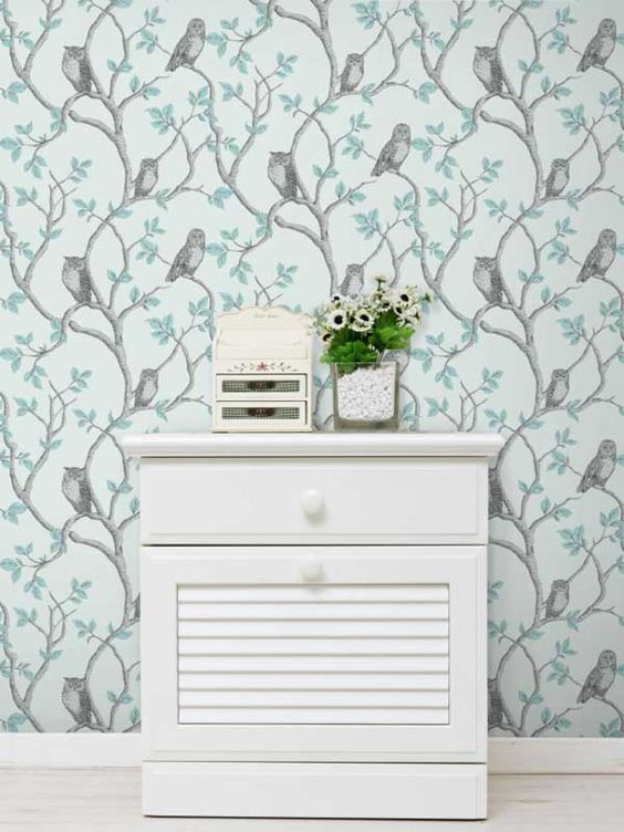 Woodland Owls Wallpaper by Fine Decor  More wallpaper designs available  here at Play Rooms. Pinterest   The world s catalog of ideas