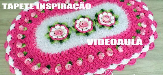 """TAPETE INSPIRAÇÃO """"Diandra Schmidt Rosa"""""""