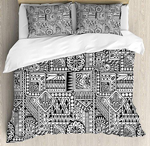 Details about  /Abstract Quilted Coverlet /& Pillow Shams Set Colorful Spring Tree Print