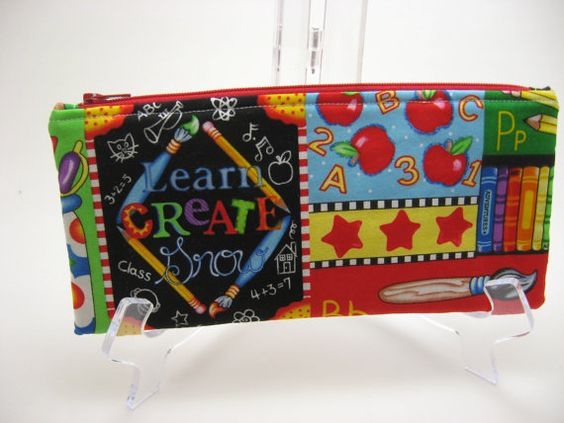 Cute pencil case for back to school.