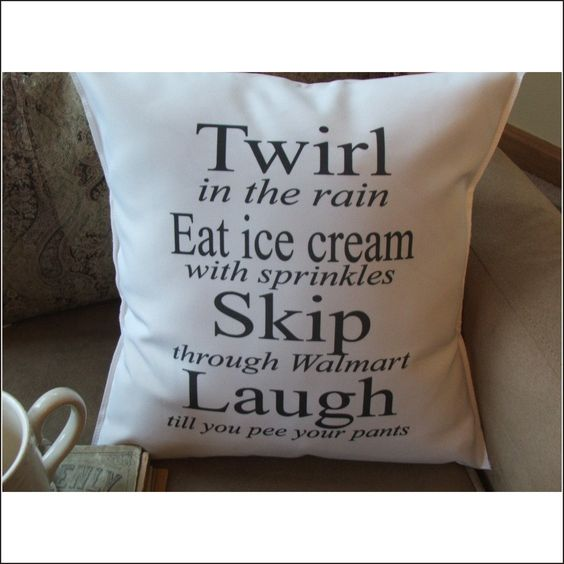 Quote Pillow Inspirational Quotes And Girl Quotes On Pinterest