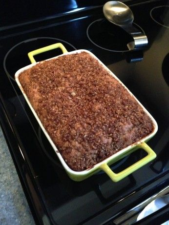A great coffee cake that does not require any special ingredients you would have to run to the store for-every ingredient should be a pantry staple. This coffee cake is easy to make, plus moist and rich with with a simple cinnamon topping.