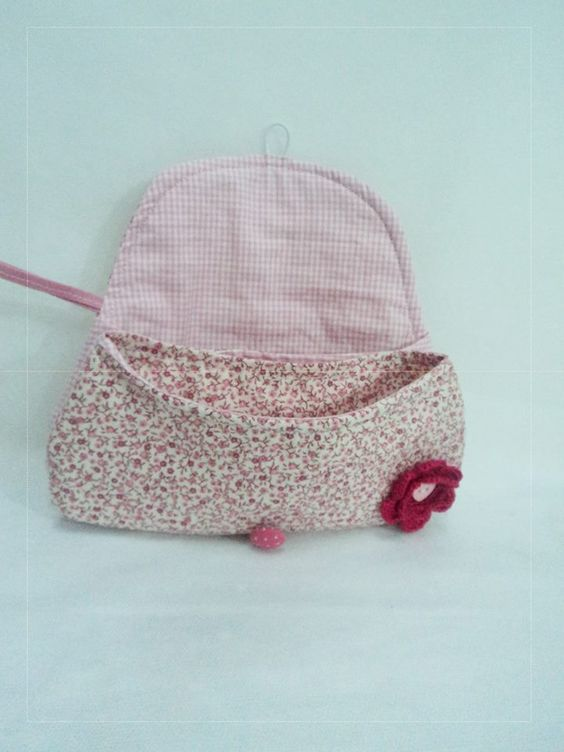 Miniclutch charmosa por Sandra Soares