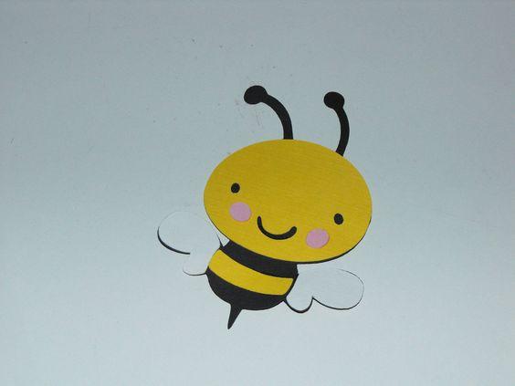 Bee Die Cut, Bee Embellishments. $9.00, via Etsy.