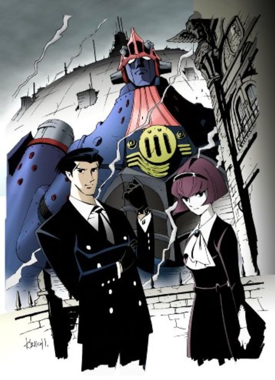 Big O Anime Characters : Big o what if batman had a giant robot instead of car