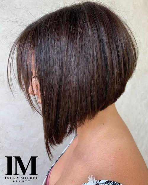 Top 20 Short Angled Bob Haircuts This Spring Angled Bob Haircuts Angled Bob Hairstyles Short Angled Bobs