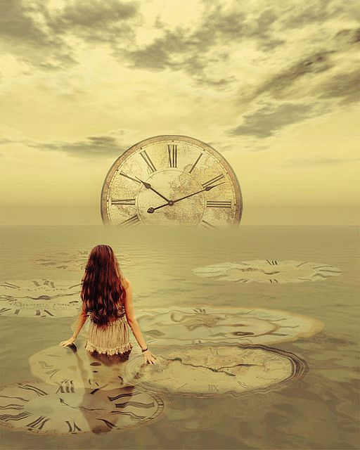 Possible cover idea; water reflecting a clock as the sun. Work with the girl somewhere, maybe not...: