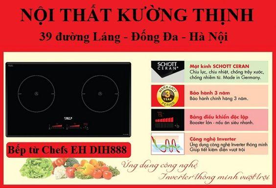Bếp từ Chefs EH DIH888 chỉ 2 từ hoàn hảo đã nói lên tất cả