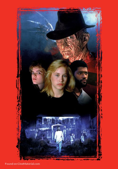 A Nightmare On Elm Street 3 Dream Warriors 1987 Key Art A Nightmare On Elm Street Dream Warriors Nightmare On Elm Street