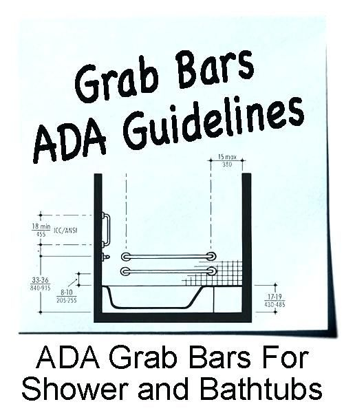 Where To Place Grab Bars In Shower Where To Place Grab Bars In Shower Stall Bathroom Safety Bars P Grab Bars In Bathroom Shower Grab Bar Bathroom Design Layout
