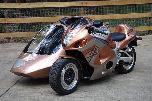 El sidecar, una moto de 3 ruedas