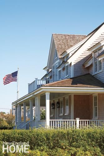 New england homes home magazine and new england on pinterest for New england architectural styles