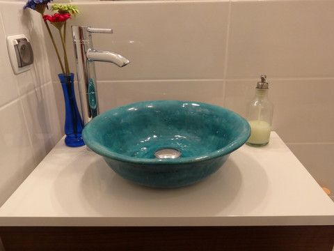 Contemporary Art Sites Artisan hand crafted sink from uniquesinks co uk