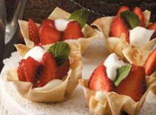 Strawberry-cheesecake Tartlets