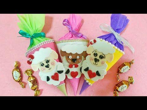 عمل توزيعات العيد بفكرة جديدة عمل زينة عيد الأضحى تجهيزات عيد الأضحى How To Make Foam Sheep Youtube Christmas Ornaments Crafts Novelty Christmas