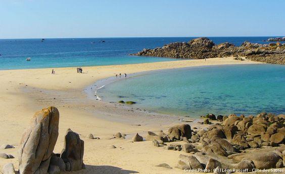 Bretagne plage des amiets a Cleder credit photo oti du leon Roscoff cote des sables.jpg