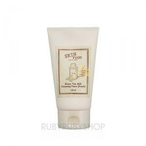 [SKIN FOOD] Green Tea Milk Cleansing Foam - 150ml