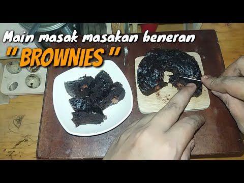 Tiny Cooking Brownies Mini Main Masak Masakan Beneran Brownies Mini Youtube Memasak Masakan Brownies