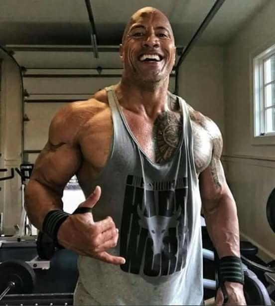 Dwayne Jhonson Gym Vest The Rock Dwayne Johnson Dwayne