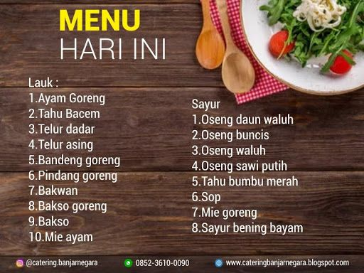 Pin Oleh Catering Dan Kost Banjarnegara Di Catering Banjarnegara Ayam Goreng Bayam Telur Dadar