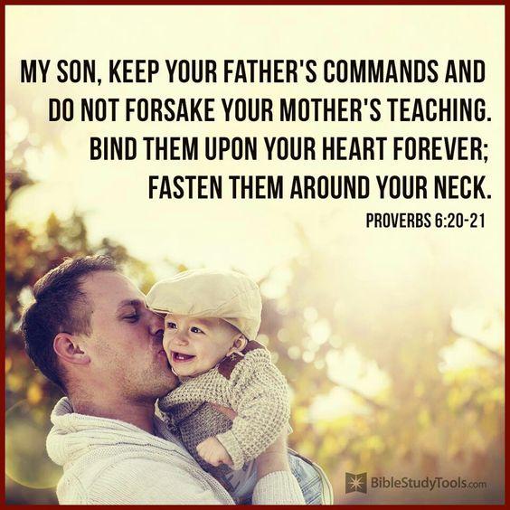 Proverbs 6:20-21