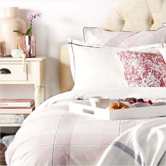 Appease your beloved feminine aesthetic with piles of frills and flowery hues. #Home