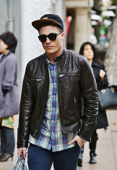Mens casual leather coats – New Fashion Photo Blog