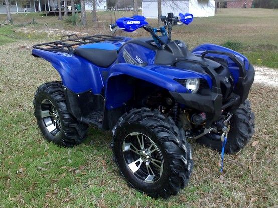 yamaha grizzly 700 atvs pinterest quad and trailers. Black Bedroom Furniture Sets. Home Design Ideas