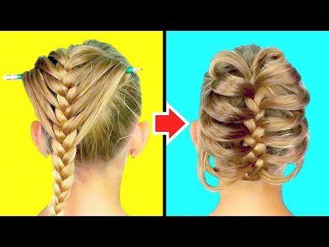 5 Minute Crafts Vs Youtube Diy Hairstyles Hair Hacks How To Make Hair