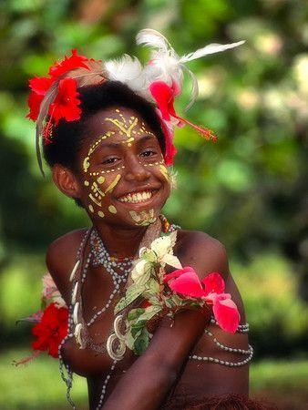 papuan girl